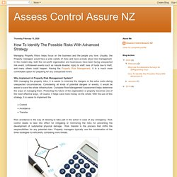 Assess Control Assure NZ: How To Identify The Possible Risks With Advanced Strategy