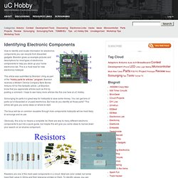 Identifying Electronic Components
