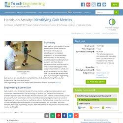 Identifying Gait Metrics - Activity - TeachEngineering