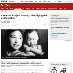 Canada's Project Naming: Identifying the unidentified