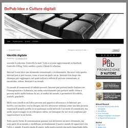 BePub Idee e Culture digitali