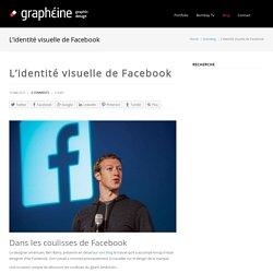 L'identité visuelle de Facebook - Agence de Communication Paris Lyon