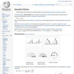 Identité d'Euler