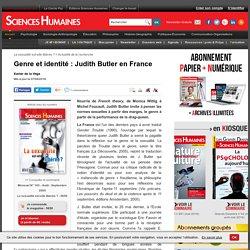Genre et identité : Judith Butler en France