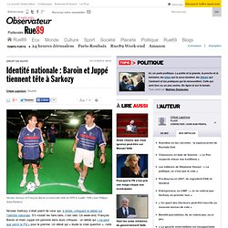 Identité nationale: Baroin et Juppé tiennent tête à Sarkozy