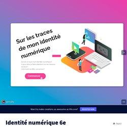 Identité numérique 6e by vero974 on Genially