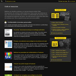 Identité numérique : Outils et ressources