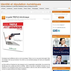 Le guide TREFLE Anti-Arnaque
