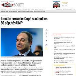Identité sexuelle: Copé soutient les 80 députés UMP