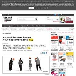 En quoi l'identité sociale de vos clients influence leurs achats