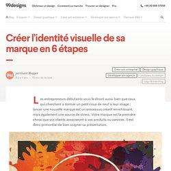 Créer l'identité visuelle de sa marque en 6 étapes