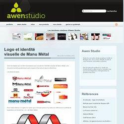 Logo et identité visuelle de Manu Métal « Awen-Studio