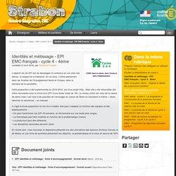 Identités et métissage - EPI EMC-français - cycle 4 - 4ème