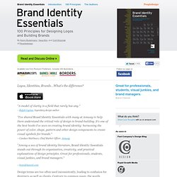 Logos, Identities, Brands...What's the difference? | Brand Identity Essentials