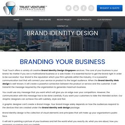 Brand Identity Design Company In Singapore