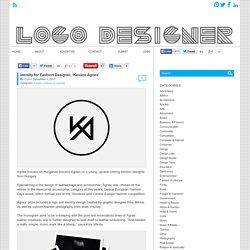 Identity for Fashion Designer, 'Kovács Ágnes' - Logo Designer