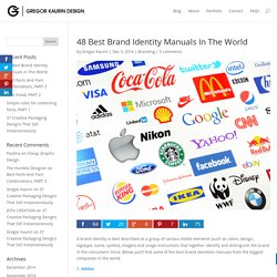 48 Best Brand Identity Manuals In The World - Gregor Kaurin