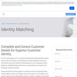 Identity Matching Service