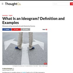 What Is an Ideogram? Definition and Examples