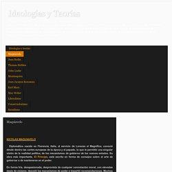Ideologías y Teorías: Maquiavelo
