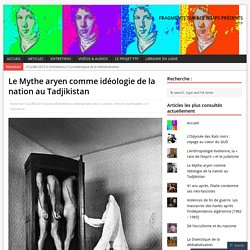 Le Mythe aryen comme idéologie de la nation au Tadjikistan