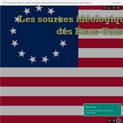Les sources idéologiques de la constitution des États-Unis d'Amérique