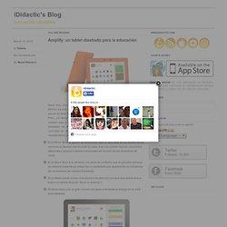 Amplify: un tablet diseñado para la educación