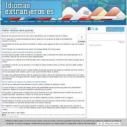 IdiomasExtranjeros.es - aprender un idioma