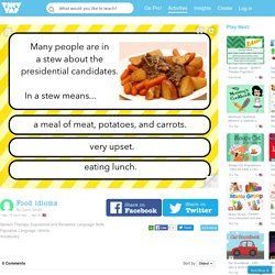 Play Food idioms by Carol Smith - Games on TinyTap