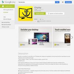 iDisplay - Android Market