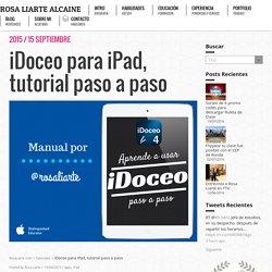 iDoceo para iPad, tutorial paso a paso