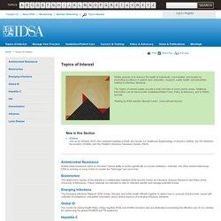 IDSA : Topics of Interest