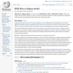 IEEE 802.11 (legacy mode) - Wikipedia