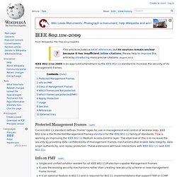 IEEE 802.11w-2009