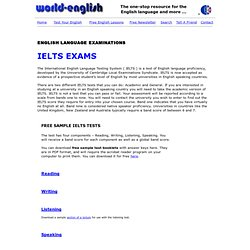 Free IELTS advice, tests and samples