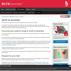 IELTS for Australia