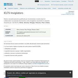 IELTS Invigilators