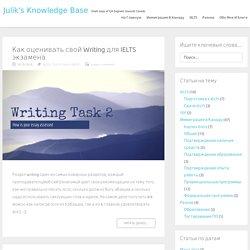IELTS — Julik's Knowledge Base