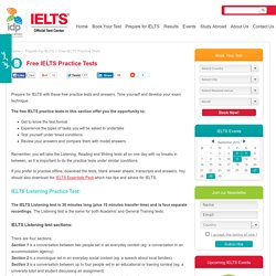 IELTS Official Test Center