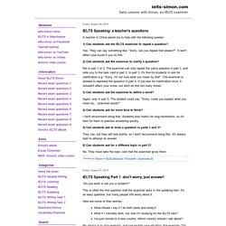 Ielts simon discussion essay sample