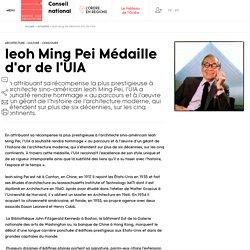 Ieoh Ming Pei Médaille d'or de l'UIA