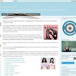 Prevención de la violencia de género: materiales para trabajar desde el Currículo Integrado y la clase de inglés