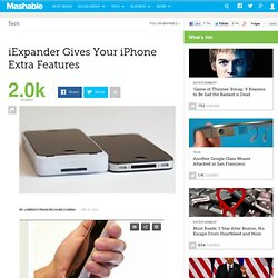 iExpander Gives Your iPhone Extra Features