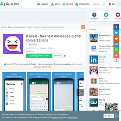 IFakeIt - fake text messages & chat conversations for Android