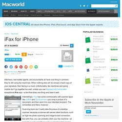iFax for iPhone