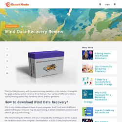 iFind Data Recovery Review