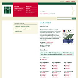 IFLA Journal