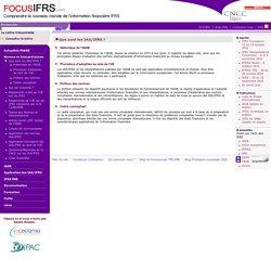 Que sont les IAS/IFRS ? / Normes et Interprétations