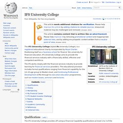 IFS University College