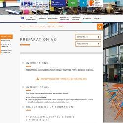 IFSI LA BLANCARDE Préparation AS